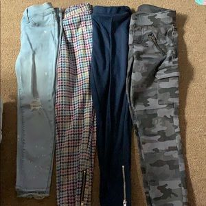 Girls pants bundle